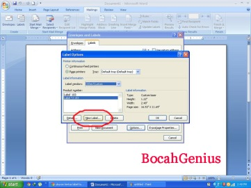 ScreenShoot BocahGenius
