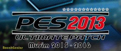 Patch PES2013 v8.1 Musim 2015-2016