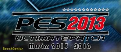 Patch PES2013 v8.1 Musim 2015-2016